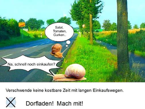 Dorfladen-Schnecken